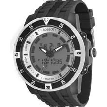 Relógio Speedo Masculino Preto Branco 81127G0EVNP1