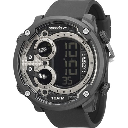 Relógio Speedo Masculino Preto Cinza 80594G0EVNP1