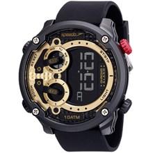 Relógio Speedo Masculino Preto Dourado 80594G0EVNP3