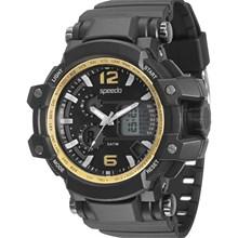 Relógio Speedo Masculino Preto Dourado 81109G0EVNP1
