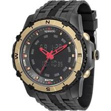 Relógio Speedo Masculino Preto Dourado 81138G0EVNP1