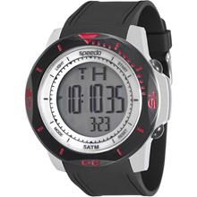 Relógio Speedo Masculino Preto Prata 81132G0EVNP3