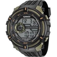 Relógio Speedo Masculino Preto Verde 80591G0EVNP2