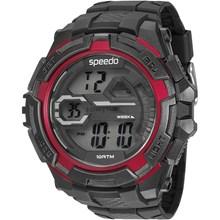 Relógio Speedo Masculino Preto Vermelho 65087G0EVNP3