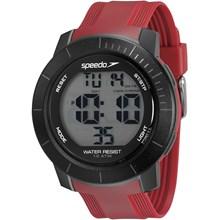 Relógio Speedo Masculino Preto Vermelho 80601G0EVNP2