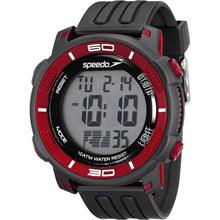 Relógio Speedo Masculino Preto Vermelho 80603G0EVNP1