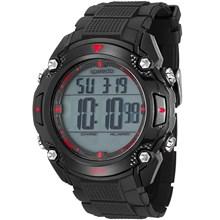 Relógio Speedo Masculino Preto Vermelho 81113G0EVNP2