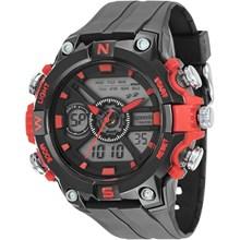 Relógio Speedo Masculino Preto Vermelho 81139G0EVNP1
