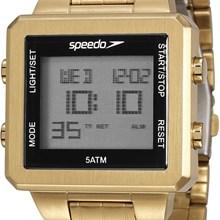 Relógio Speedo Masculino Quadrado Dourado 24845GPEVDA2