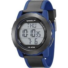 Relógio Speedo Monitor Cardíaco Masculino Azul Preto 80622G0EVNP1
