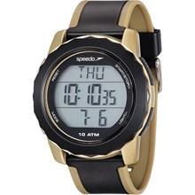 Relógio Speedo Monitor Cardíaco Masculino Dourado Preto 80622G0EVNP2