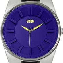 Relógio Storm Masculino Prata Azul S.ASTONA 1SX