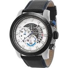 Relógio Technos Carbon Masculino Cronógrafo Couro OS1AAT/0B