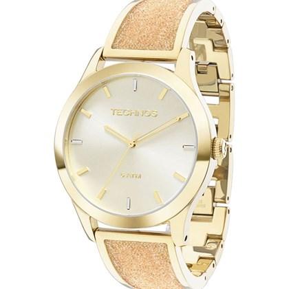 2106e30e9a3 Relógio Technos Feminino Dourado 2035LYB 4X - My Time