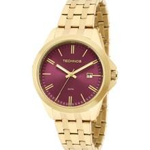 Relógio Technos Feminino Dourado Rosa 2115KRX/4T