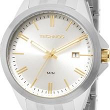 Relógio Technos Feminino Prata 2115KRY/1K