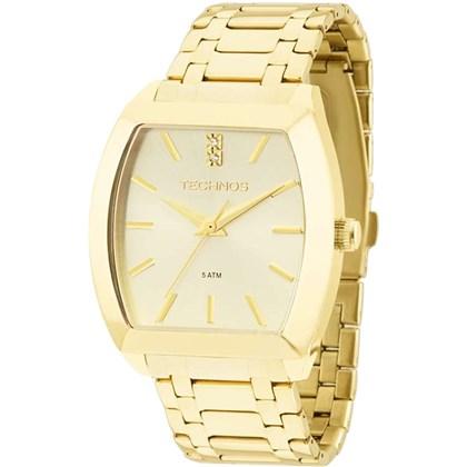 16483d83cd9 Relógio Technos Feminino Quadrado Dourado 2035LXY 4X - My Time
