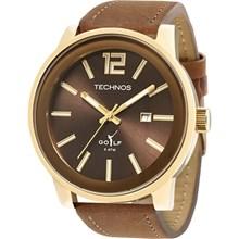 Relógio Technos Golf Masculino Marrom 2115KMV/2M
