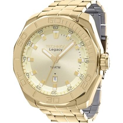 4fd15b4a7f0 Relógio Technos Legacy Masculino Dourado 2315ABI 4X - My Time