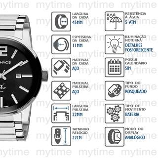 Relógio Technos Masculino 2115TU/1P