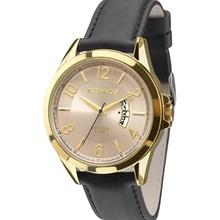 Relógio Technos Masculino Couro Preto 2115KTE/2X
