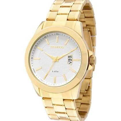 Relógio Technos Masculino Dourado 2115KNN 4K - My Time f18fe2811d