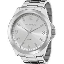 Relógio Technos Masculino Prata 2035MCX/1k