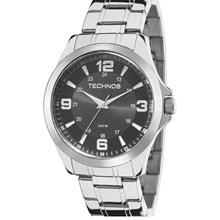 Relógio Technos Masculino Prata Preto 2035MDD/1C