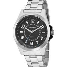 Relógio Technos Masculino Prata Preto 2035MFC/1A