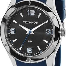 Relógio Technos Racer Masculino Prata Azul 2035MDC/8P