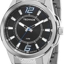 Relógio Technos Racer Masculino Prata Preto 2035MEC/1A