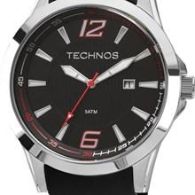 Relógio Technos Racer Masculino Prata Preto 2115KQD/8R
