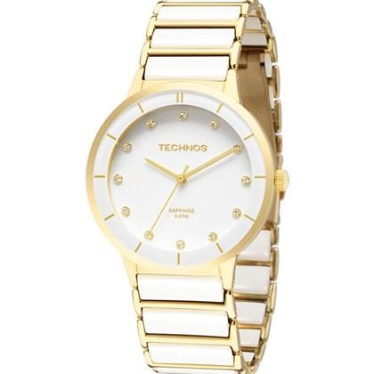 Relógio Technos Sapphire Feminino Branco 2036LMN 4B - My Time 010b64f3fd