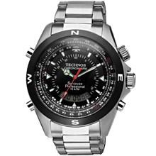 Relógio Technos Skydiver Masculino Prata Preto T20560/1P