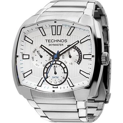 cf29ffd8393b6 Relógio Technos Skymaster Multifunção Prata 6P29AGX 1C - My Time
