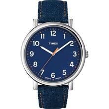 Relógio Timex Style Prata Azul T2N955
