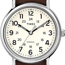 RELÓGIO TIMEX STYLE T2P495WW/TN COURO