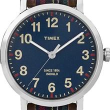 RELÓGIO TIMEX STYLE TW2P69500WW/N COURO