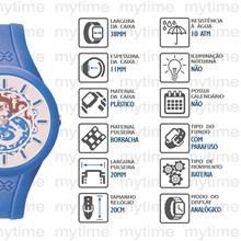 Relógio X-Games Feminino Analógico Azul Branco XFPP0006 SAAX