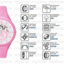 Relógio X-Games Feminino Analógico Rosa Branco XFPP0005 SRRX