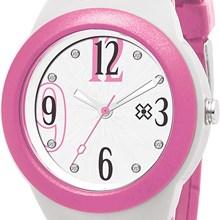 Relógio X-Games Feminino Analógico Rosa Branco XFPP0017 S2RB