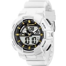 Relógio X-games Masculino Ana-Digi Branco XMPPA137 BKBX