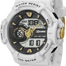 Relógio X-Games Masculino Ana-Digi Branco XMPPA187 BXBX