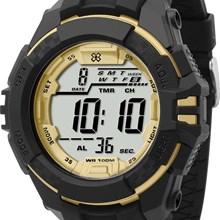 Relógio X-Games Masculino Digital Preto Dourado XMPPD334 BXPX