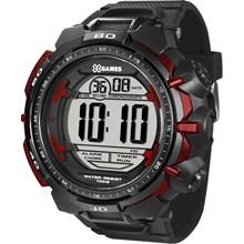 Relógio X-Games Masculino Digital Preto Vermelho XMPPD201 BXPX
