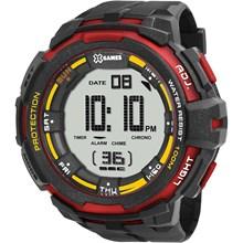 Relógio X-Games Masculino Digital Preto Vermelho XMPPD352