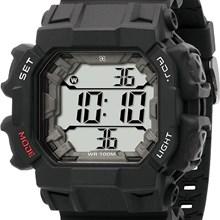 Relógio X-Games Masculino Quadrado Digital Preto XGPPD075 BXPX