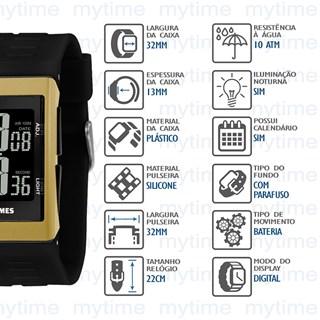 Relógio X-Games Masculino XGPPD119 PXPX