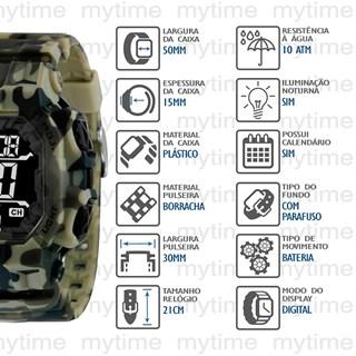 Relógio  X-Games Masculino XGPPD142 PXEP