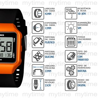 Relógio X-Games Masculino XGPPD152 BXPX